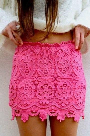 Sexy Mini Hook Flower Crochet Pencil Skirt Lace Petticoat High Waist Bodyconrricdress-rricdress