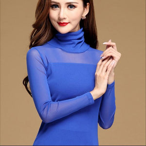 Women Sexy Blouse Shirt For Work Fashion Casual Long Sleeve Lace Topsrricdress-rricdress