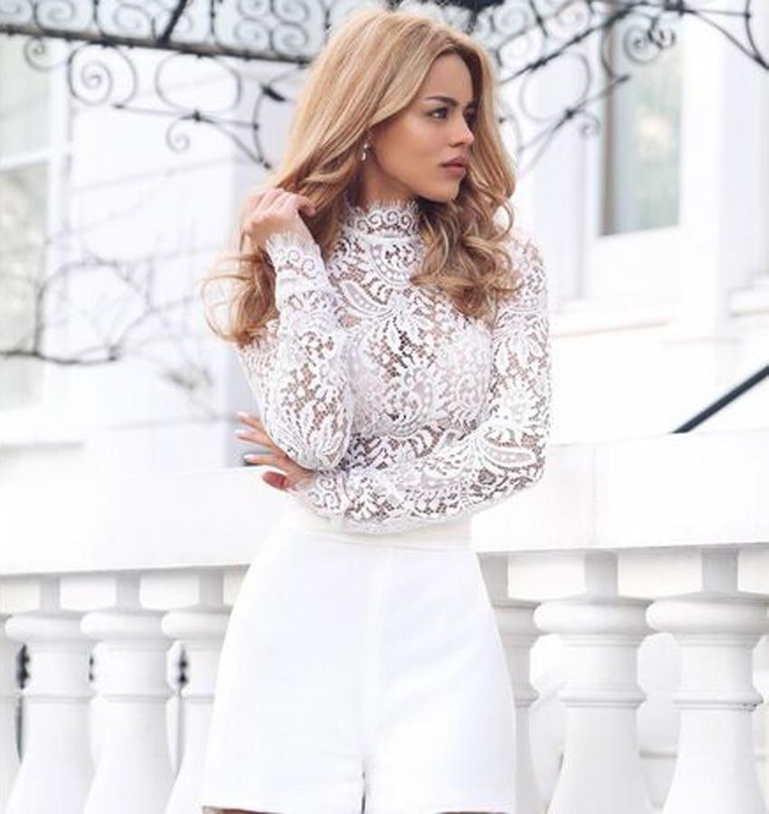 long sleeve high neck lace bodysuitrricdress-rricdress