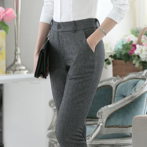 Plus Size 4XL Formal OL Styles Spring Winter Business Women Pants Officerricdress-rricdress