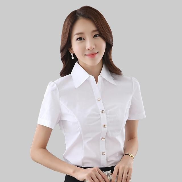 Formal Blouse Shirt Cardigan White Solid Elegant Women Clothes Blusas Femininas Roupasrricdress-rricdress
