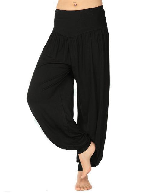 Hot sale S1 High waist New Women Harem Pants Modal Dancingrricdress-rricdress