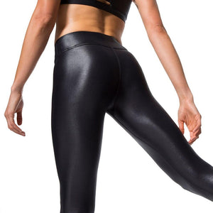 2017 Fashion Mid waist PU Warm leggings in women's leggings Plus sizerricdress-rricdress