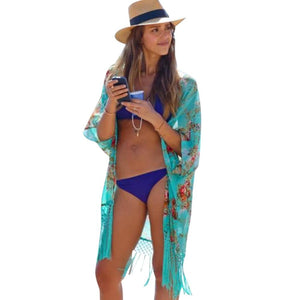 Women Beach Cover Up Ladies Sexy Swimsuit Bathing Suit Cover Ups Caperricdress-rricdress