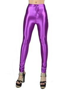 2018 New American Style Pencil Pants Shiny Disco Pants High Waist Women'srricdress-rricdress