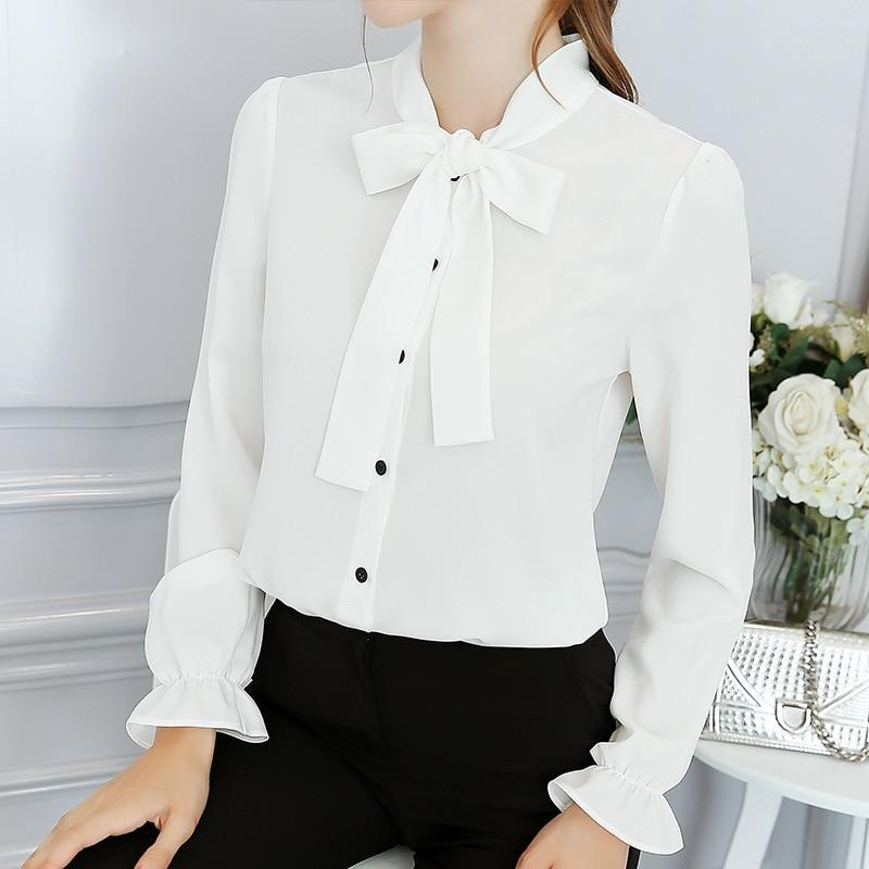 White Red Blue Women Shirts 2018 Spring Summer Blouse New Sweet Fashionrricdress-rricdress