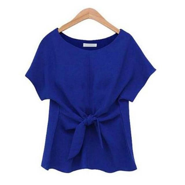 2018 Womens Tops and Blouses Blusa Feminina Summer Chiffon Blouse Short Sleeverricdress-rricdress