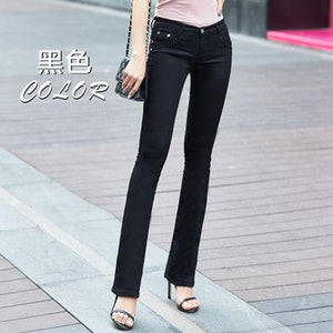 Spring and autumn new pants Slim fashion pants candy color elastic trousersrricdress-rricdress