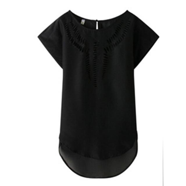 2018 New Casual Top Chiffon Tees Blouse fashion Hot sales women shirtrricdress-rricdress