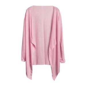 Summer Women Long Thin Cardigan Modal Sun Protection Clothing Tops camisetas mujerrricdress-rricdress