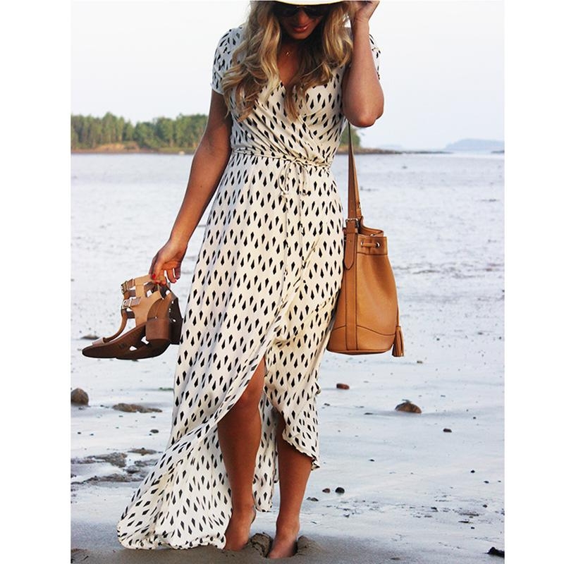 2018 Beach dress sexy boho bohemian peoplerricdress-rricdress