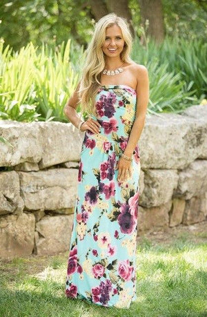 Boho long dress women Off shoulder beach summer dress sexy female Vintagerricdress-rricdress