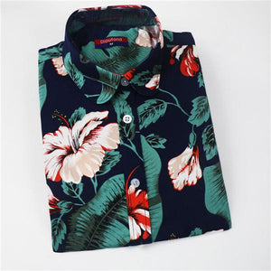 Print Women's Long Sleeve Blouse Shirts Lipstick Floral Ladies Blouses Cottonrricdress-rricdress