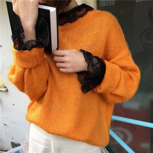 Women Sexy Transparent Mesh Patchwork Tee Shirts Blouses Girls Full Flare Sleeverricdress-rricdress