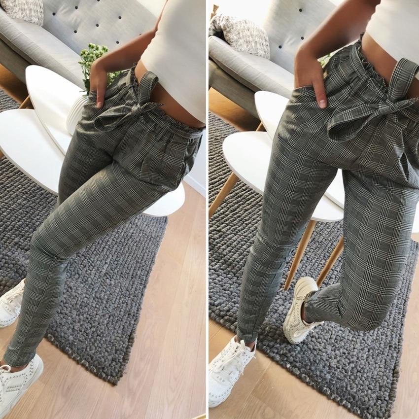 2018 OL chiffon high waist harem pants Women stringyselvedge summer style casualrricdress-rricdress