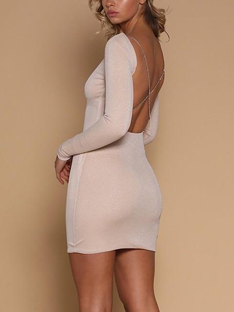 HIRIGIN US Womens Ladies Bandage Sexy Dress Party Long Sleeve Night Clubrricdress-rricdress