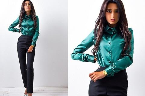 2018 spring new fashion women long sleeve elegant shirts Casual button blouserricdress-rricdress