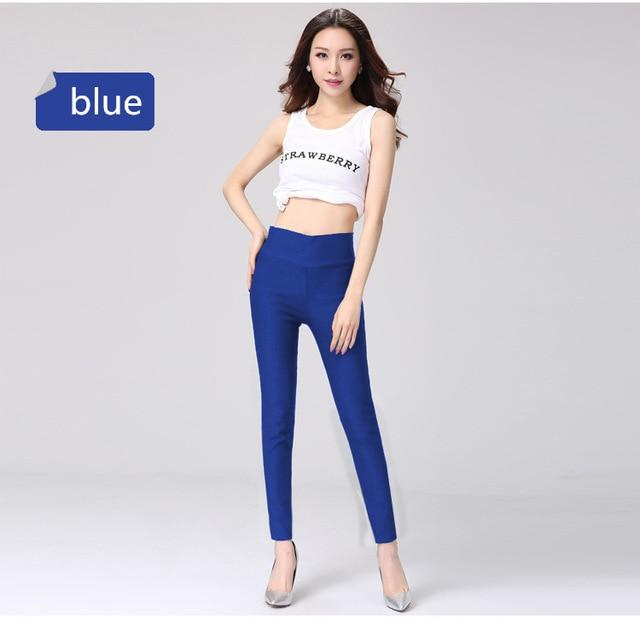 2018 Spring summer plus size pants women hight waist pencil pants womenrricdress-rricdress