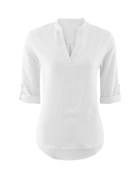 Women's Ladies Summer Loose Tops Three Quarter Sleeve Shirt Casual Blouse Fashionrricdress-rricdress