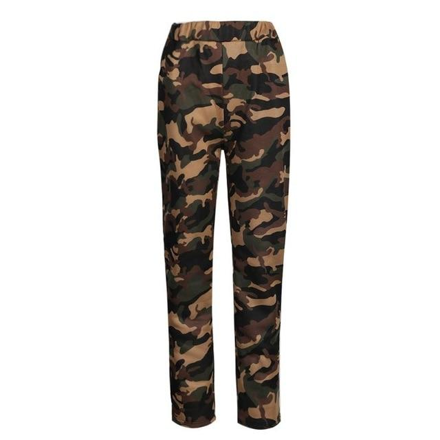 Women Camouflage Pants Casual Black Camo Sweatpant Fashion Gray Red Camo Pantsrricdress-rricdress
