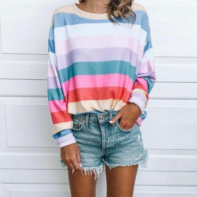 New 2018 Fashion Summer women cute chiffon blouses Steetwear Long sleeve o-neckrricdress-rricdress