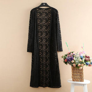 Kimono Cardigan Women Long Lace Womens Tops And Blouses Plus Size 5XLrricdress-rricdress