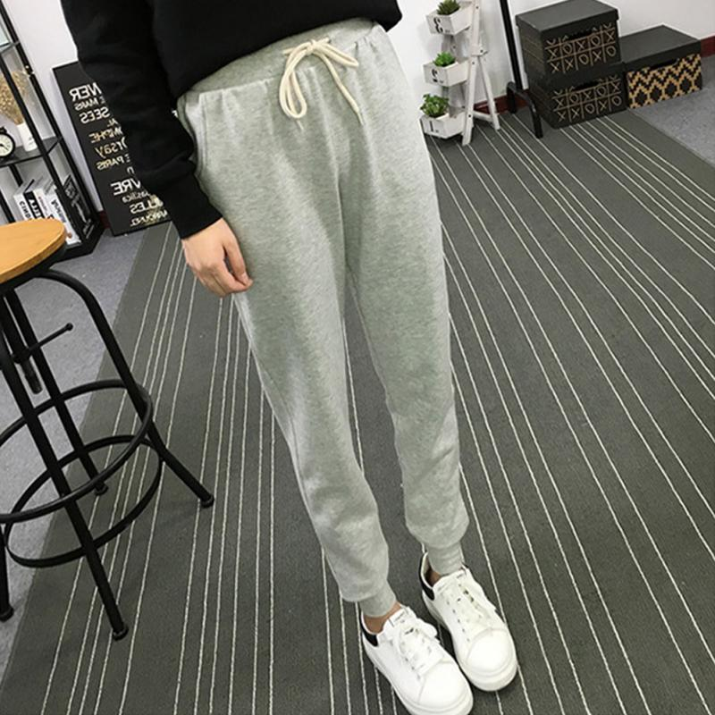 Spring and Autumn Hot New High Waist Loose Pants Female Feet Trousersrricdress-rricdress