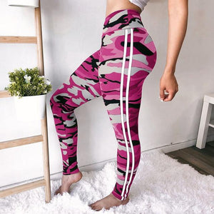 5 Colors Women High Waist Camouflage Pants Fashion Pantalon Femme Trouser Ankle-Lengthrricdress-rricdress