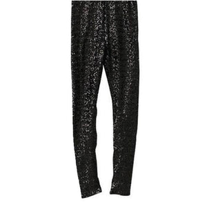 Autumn Women Thin Sequin Leggings Stretchy Slim Paillette Pencil Pantsrricdress-rricdress