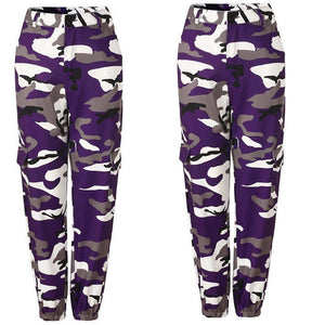 5styles Fashion Women Camouflage Pant High Waist Hiphop Camo Pant With Pocketsrricdress-rricdress