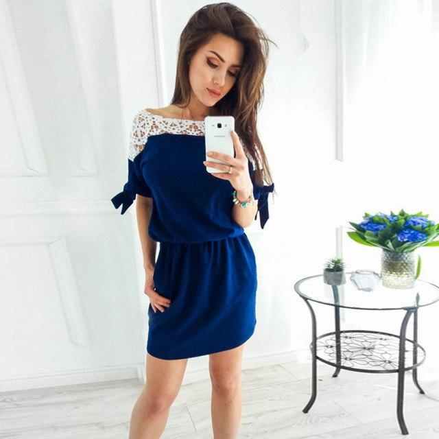 2018 Women Spring Autumn New Fashion Hot Elegant Hollow Out Lace Vintagerricdress-rricdress