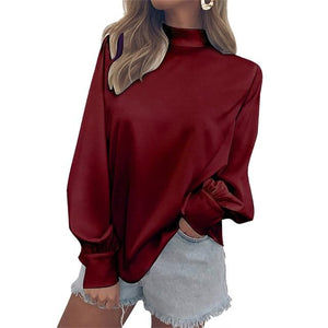 Autumn 2018 Long Sleeve Chiffon Blouse Womens Tops and Blouses Ladies Topsrricdress-rricdress
