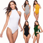 10colors Summer Backless jumpsuit romper bodysuit women sexy bodysuit female overalls Sleevelessrricdress-rricdress