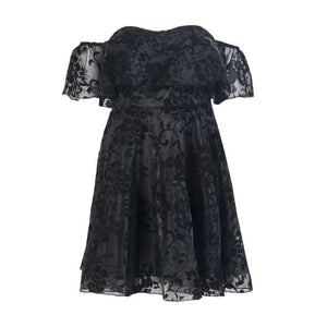 Fashion Women Lace Short MIni Ball Gown Dress Prom Evening Party Bridesmaidrricdress-rricdress