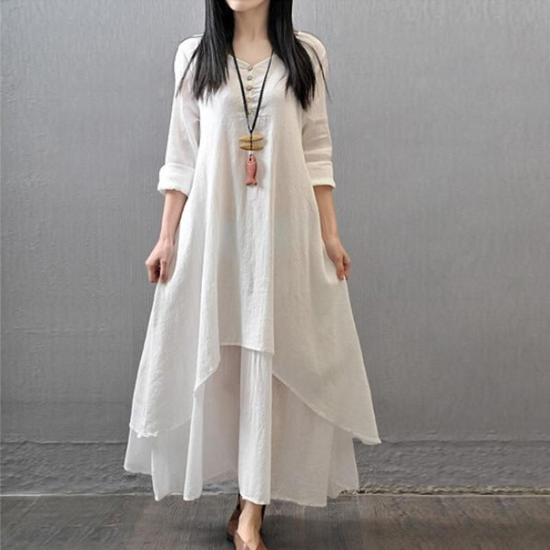 1PC Hot Sale Women 2018 Newest Chinese Retro Style Fresh girl Summerrricdress-rricdress