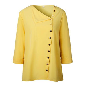 Women Blouse Shirt Long Sleeve Korean Fashion New Arrival Autumn Fall Officerricdress-rricdress