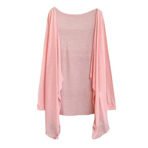 Summer Women Long Thin Cardigan Modal Sun Protection Clothing Tops Z0611rricdress-rricdress