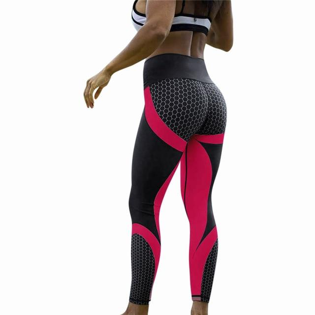 Hot Sale Womens 3D Print Regular Workout Leggings Sports Training Cropped Pantsrricdress-rricdress