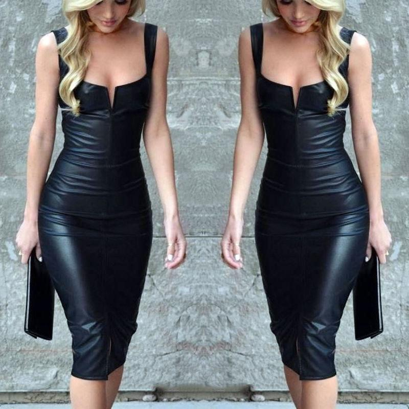 Sexy Summer Fashion Women'S Bandage Bodycon Sleeveless Club Evening Party Dress Newrricdress-rricdress