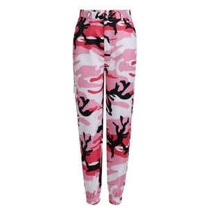 Women Camouflage Pants Jogger Pants Fashion Pantalon Femme Trouser Ankle-Length Sweatpants Womenrricdress-rricdress