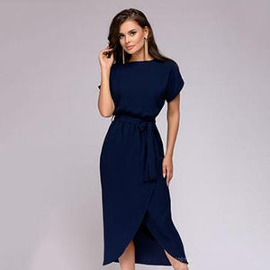 2018 Women New Dress Autumn Elegant Party Loose Dresses Fashion Bohemiarricdress-rricdress