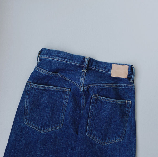 STRAIGHT DENIM - BLUE