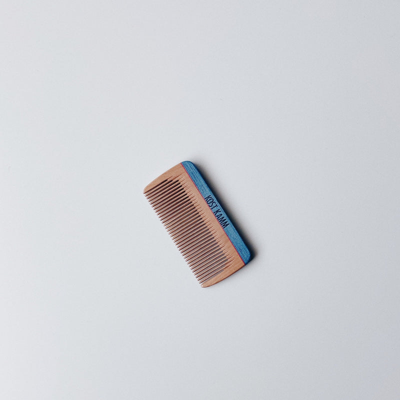 MINI POCKET COMB (B) - INDIGO