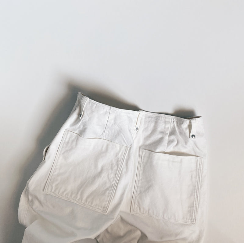 WORK PANTS - OFF WHITE