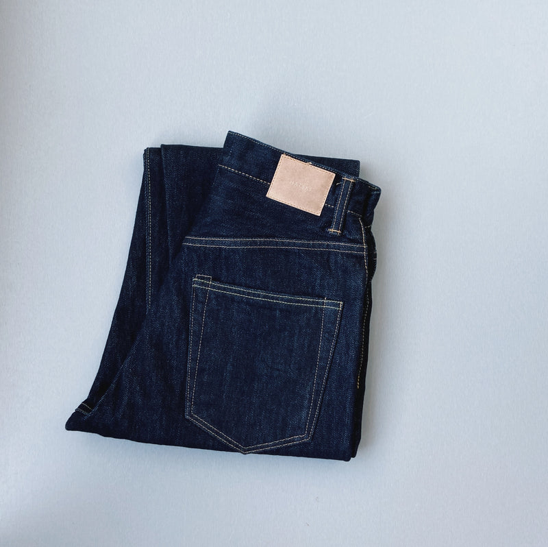 LOOSE TAPERED DENIM - ONE WASH