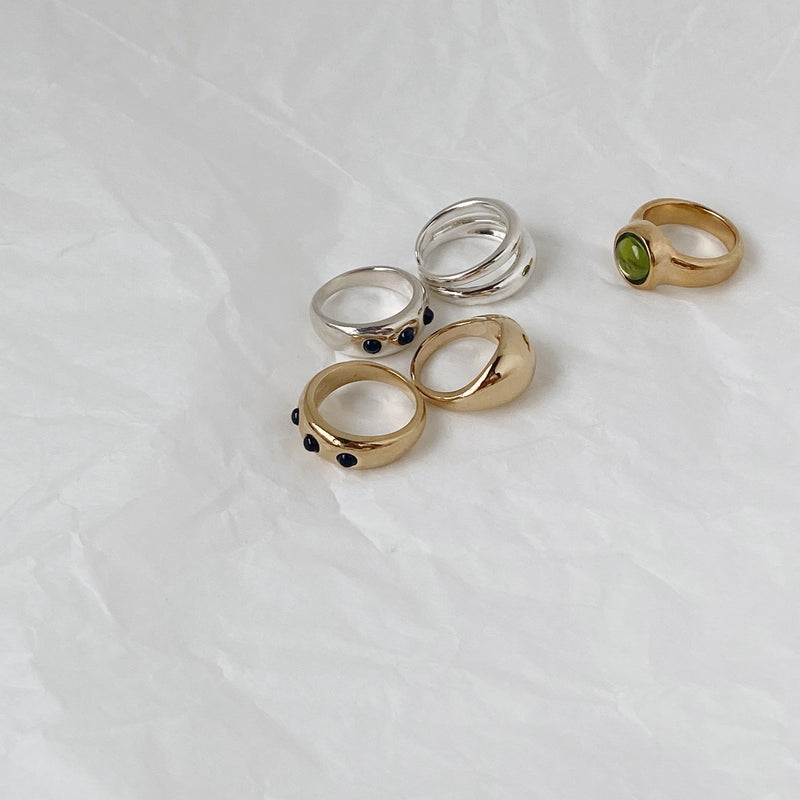 Mabel Ring - Gold / Sapphire