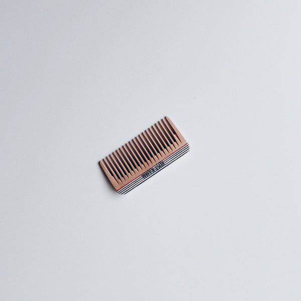 MINI POCKET COMB (A) - STRIPE