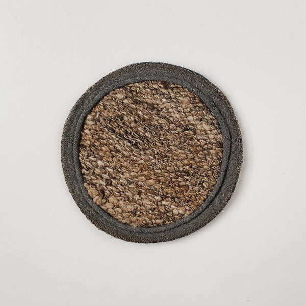 TUSSAH CIRCLE MAT - NATURAL (L)