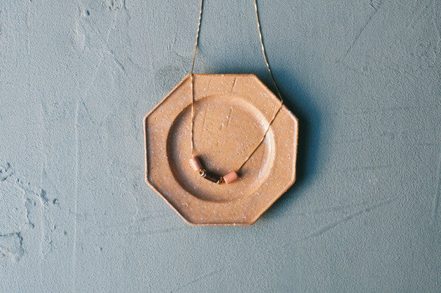PEACH POT NECKLACE