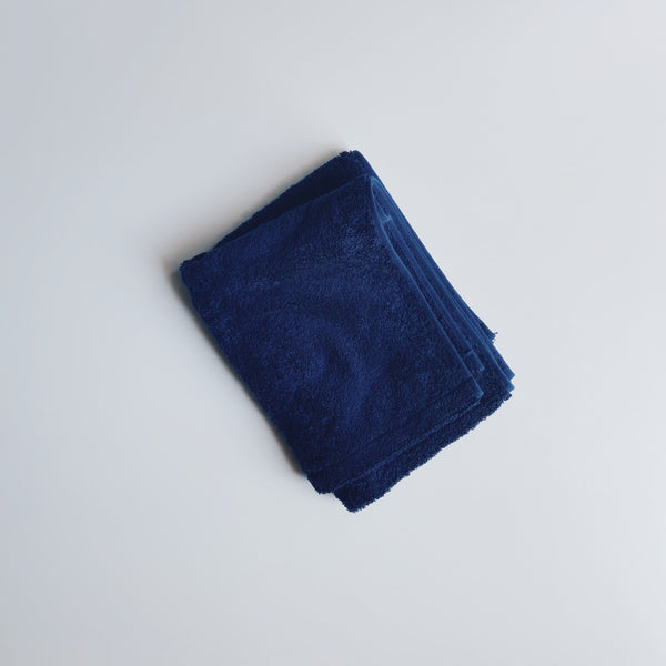 FACE TOWEL - darknight indigo